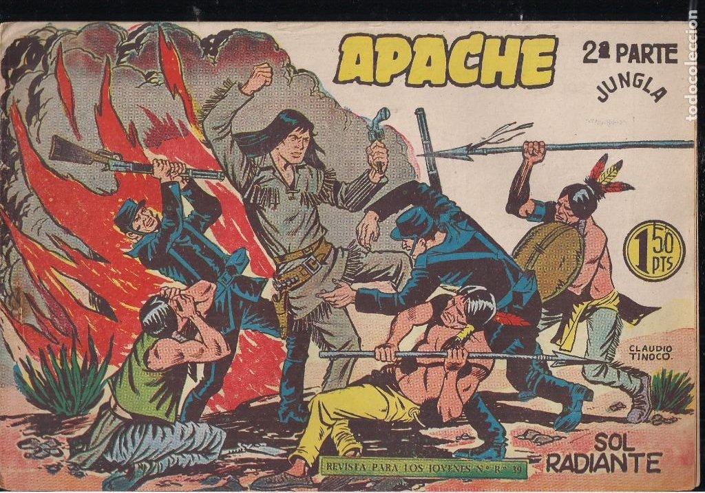 Tebeos: APACHE 2ª PARTE LOTE DE 39 EJEMPLARES - Foto 14 - 195189596