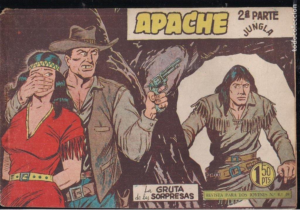 Tebeos: APACHE 2ª PARTE LOTE DE 39 EJEMPLARES - Foto 15 - 195189596