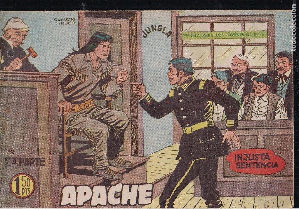 Tebeos: APACHE 2ª PARTE LOTE DE 39 EJEMPLARES - Foto 16 - 195189596