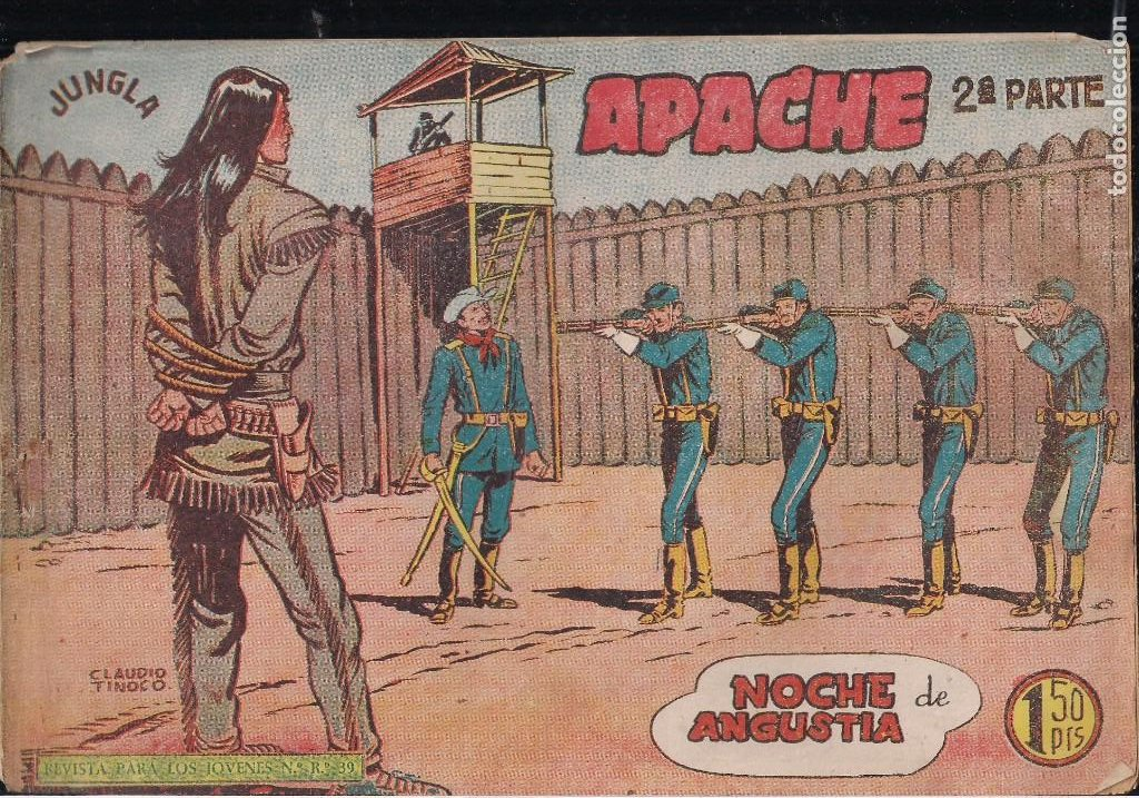 Tebeos: APACHE 2ª PARTE LOTE DE 39 EJEMPLARES - Foto 17 - 195189596