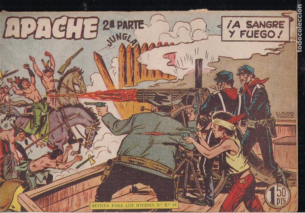 Tebeos: APACHE 2ª PARTE LOTE DE 39 EJEMPLARES - Foto 18 - 195189596