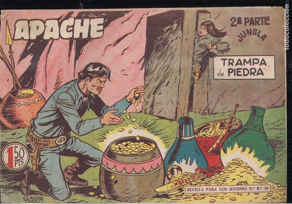 Tebeos: APACHE 2ª PARTE LOTE DE 39 EJEMPLARES - Foto 20 - 195189596