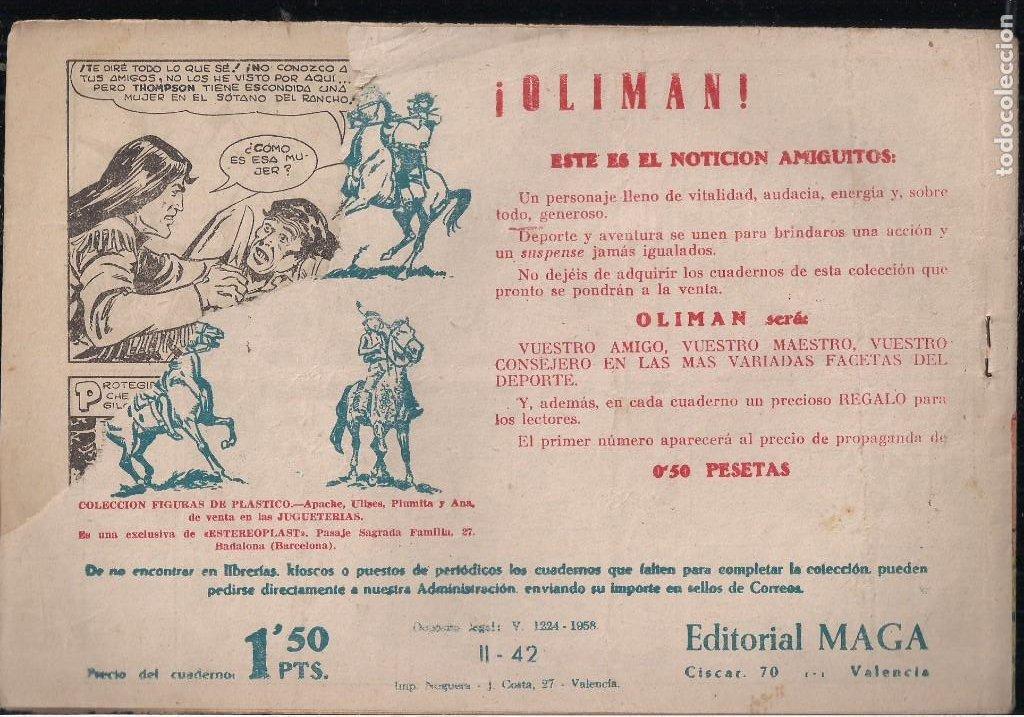 Tebeos: APACHE 2ª PARTE LOTE DE 39 EJEMPLARES - Foto 22 - 195189596
