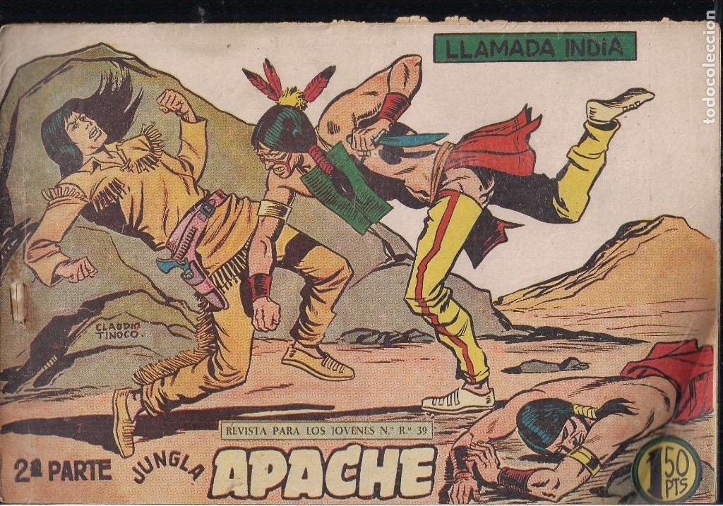 Tebeos: APACHE 2ª PARTE LOTE DE 39 EJEMPLARES - Foto 23 - 195189596