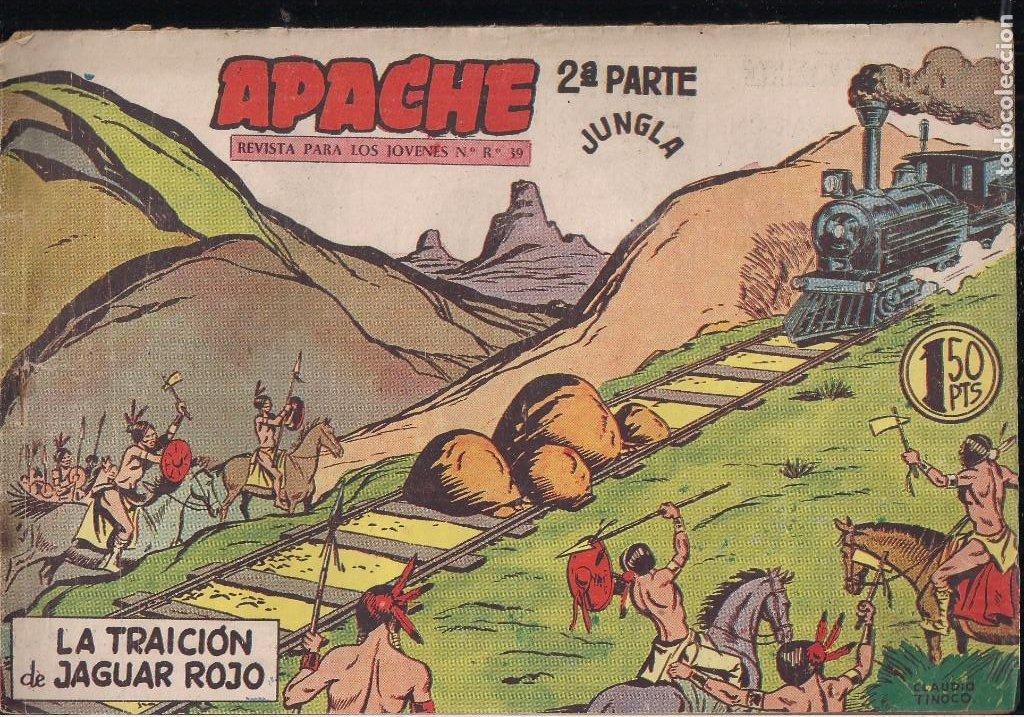 Tebeos: APACHE 2ª PARTE LOTE DE 39 EJEMPLARES - Foto 24 - 195189596