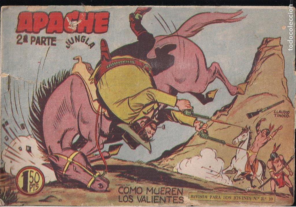 Tebeos: APACHE 2ª PARTE LOTE DE 39 EJEMPLARES - Foto 25 - 195189596