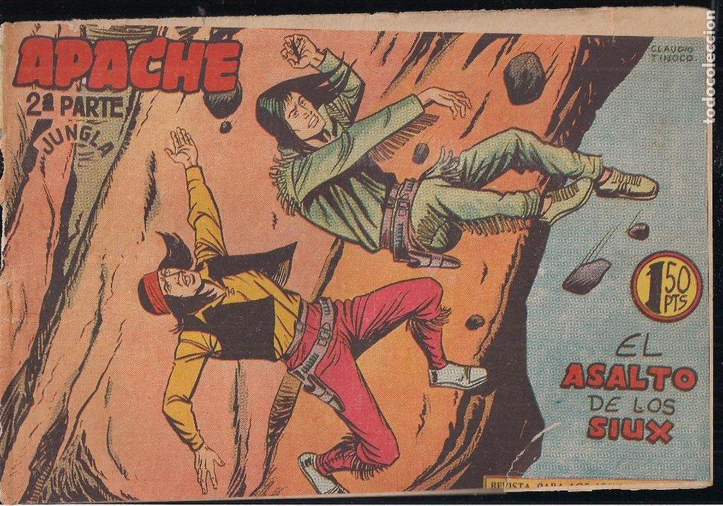 Tebeos: APACHE 2ª PARTE LOTE DE 39 EJEMPLARES - Foto 26 - 195189596
