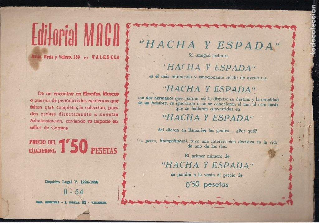 Tebeos: APACHE 2ª PARTE LOTE DE 39 EJEMPLARES - Foto 27 - 195189596