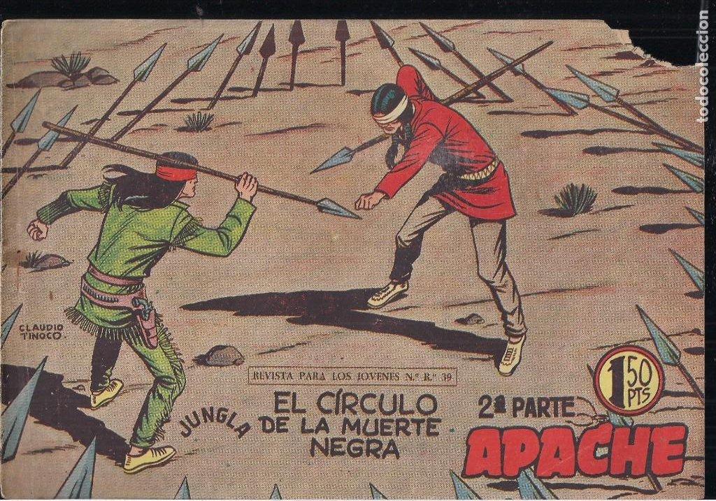 Tebeos: APACHE 2ª PARTE LOTE DE 39 EJEMPLARES - Foto 28 - 195189596