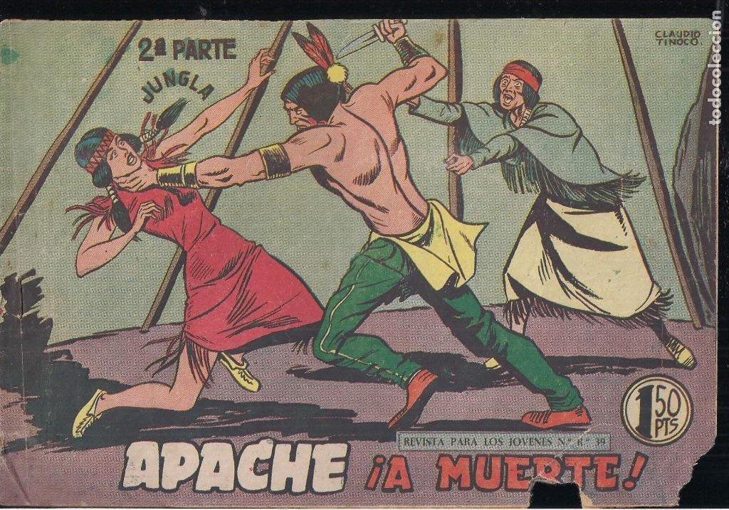 Tebeos: APACHE 2ª PARTE LOTE DE 39 EJEMPLARES - Foto 29 - 195189596