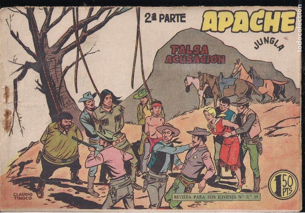 Tebeos: APACHE 2ª PARTE LOTE DE 39 EJEMPLARES - Foto 30 - 195189596