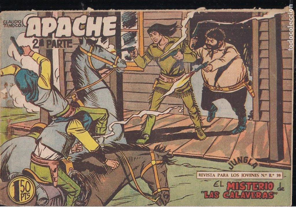 Tebeos: APACHE 2ª PARTE LOTE DE 39 EJEMPLARES - Foto 31 - 195189596