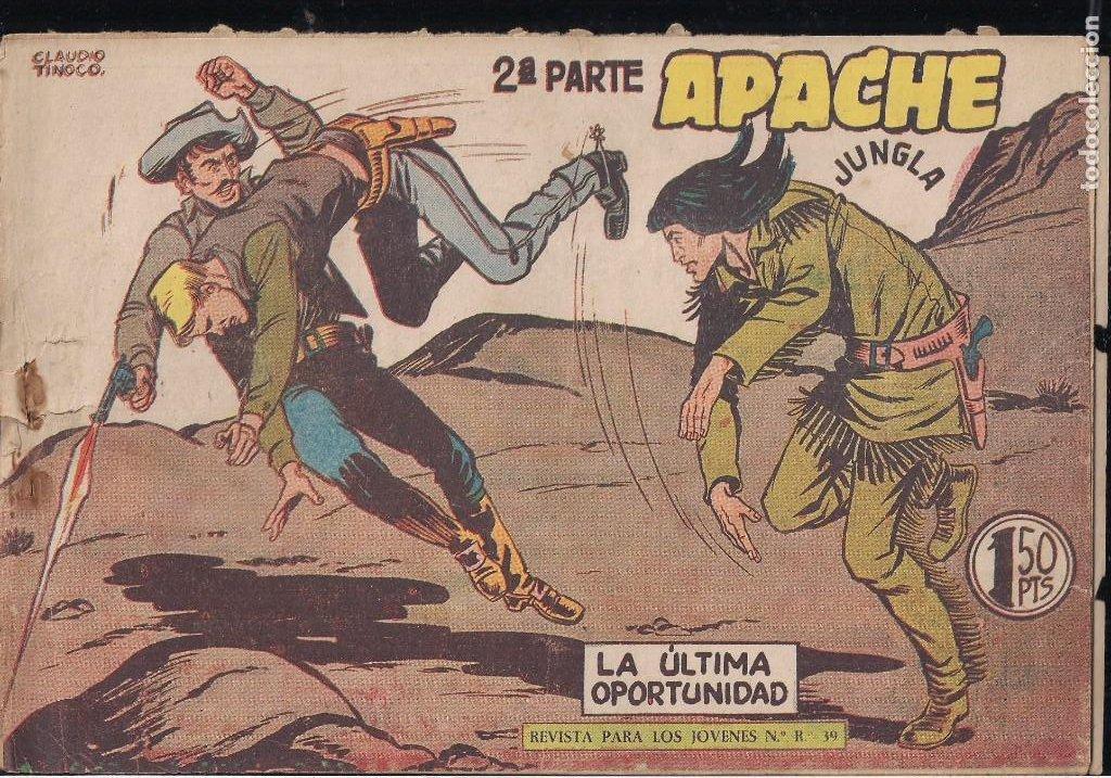 Tebeos: APACHE 2ª PARTE LOTE DE 39 EJEMPLARES - Foto 32 - 195189596