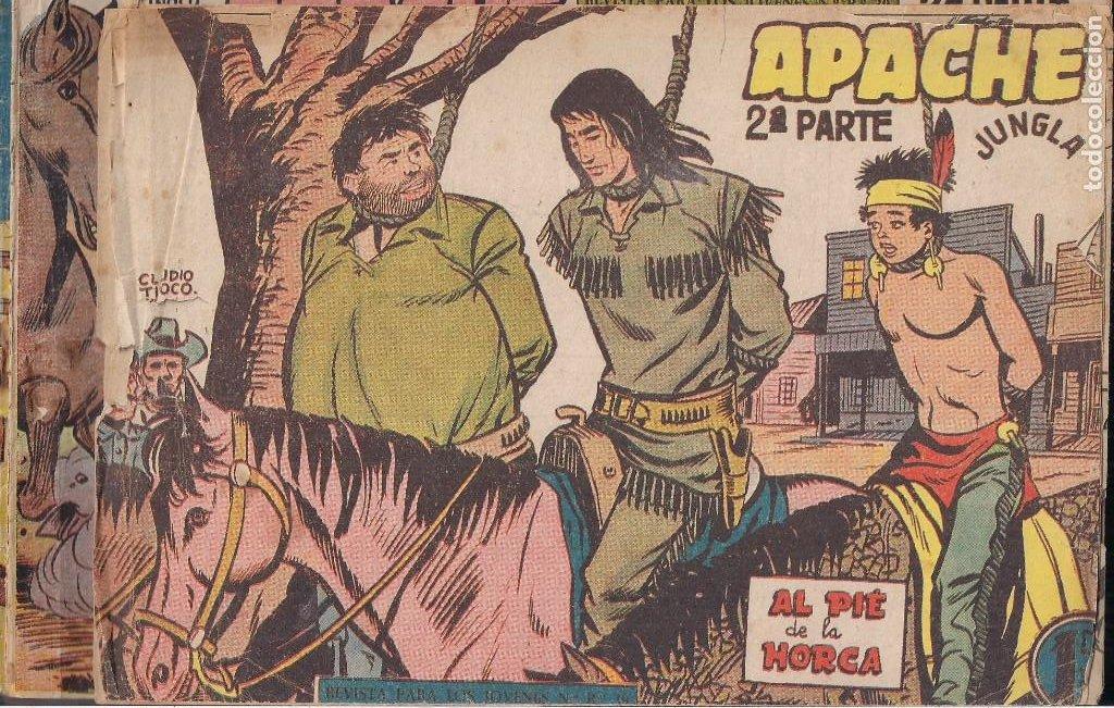 Tebeos: APACHE 2ª PARTE LOTE DE 39 EJEMPLARES - Foto 33 - 195189596