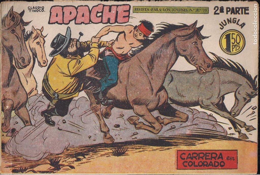 Tebeos: APACHE 2ª PARTE LOTE DE 39 EJEMPLARES - Foto 34 - 195189596