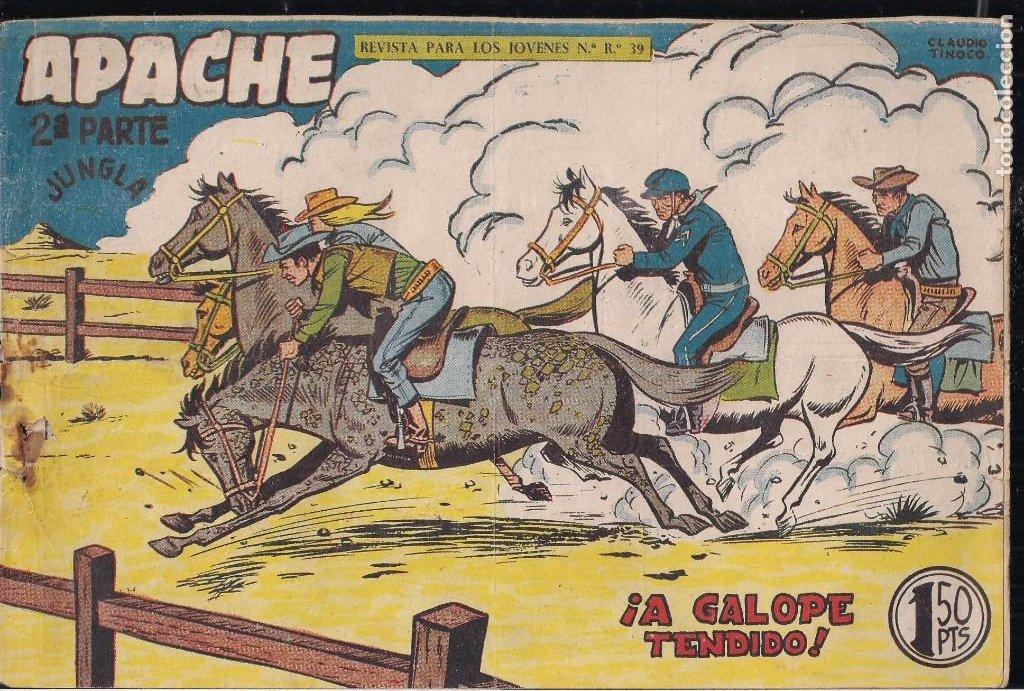 Tebeos: APACHE 2ª PARTE LOTE DE 39 EJEMPLARES - Foto 35 - 195189596