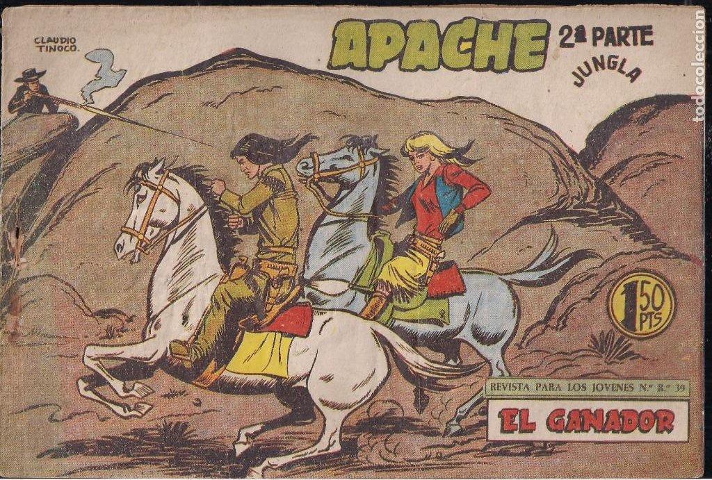 Tebeos: APACHE 2ª PARTE LOTE DE 39 EJEMPLARES - Foto 37 - 195189596