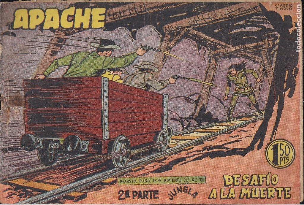 Tebeos: APACHE 2ª PARTE LOTE DE 39 EJEMPLARES - Foto 38 - 195189596