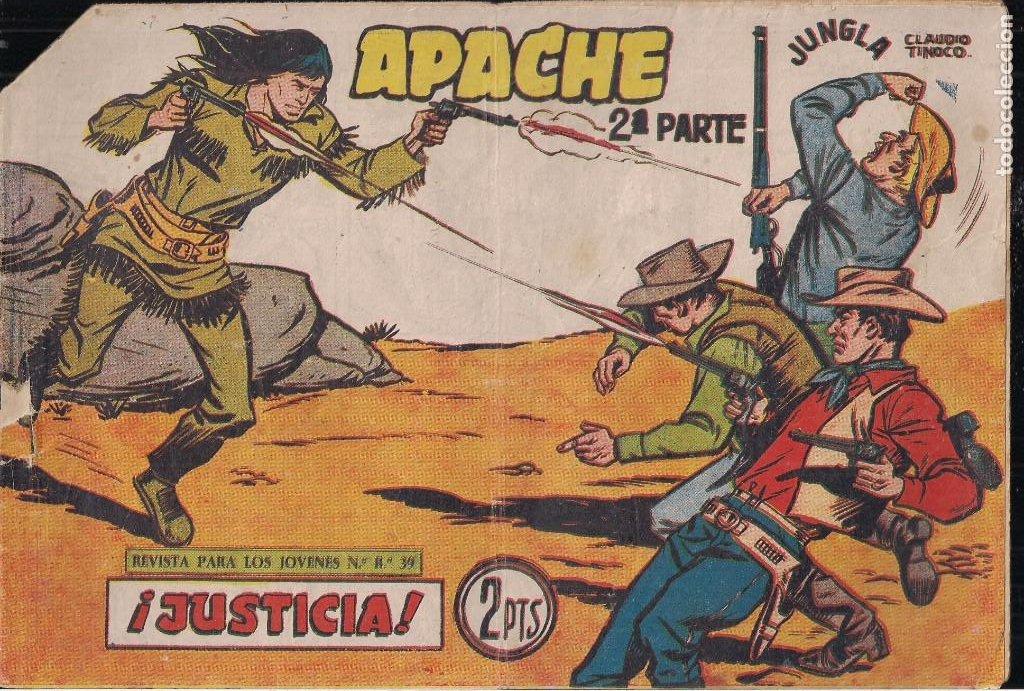 Tebeos: APACHE 2ª PARTE LOTE DE 39 EJEMPLARES - Foto 39 - 195189596