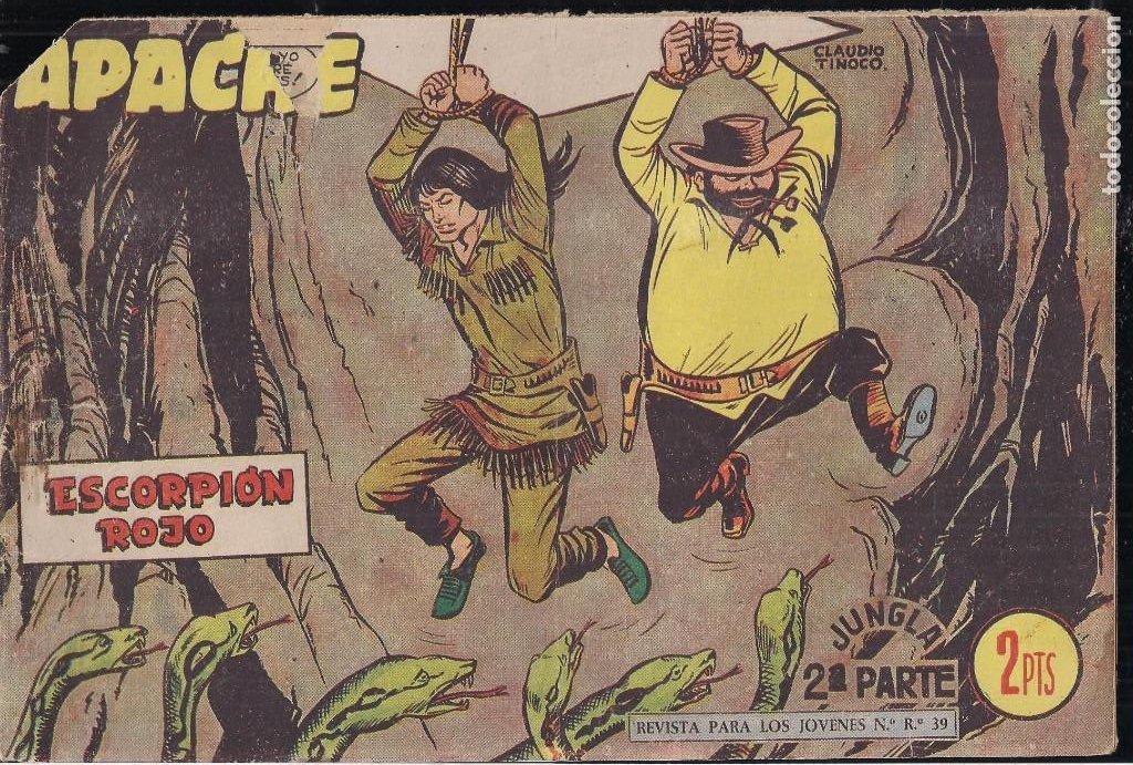Tebeos: APACHE 2ª PARTE LOTE DE 39 EJEMPLARES - Foto 40 - 195189596