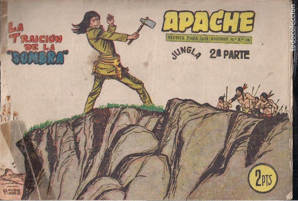 Tebeos: APACHE 2ª PARTE LOTE DE 39 EJEMPLARES - Foto 41 - 195189596