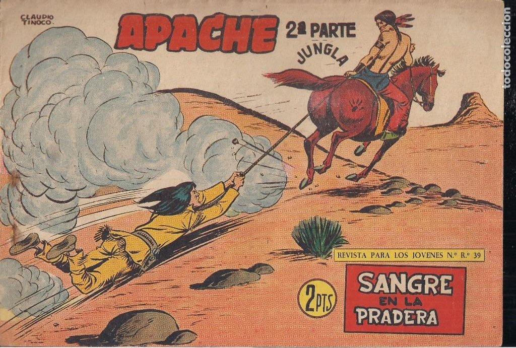 Tebeos: APACHE 2ª PARTE LOTE DE 39 EJEMPLARES - Foto 42 - 195189596