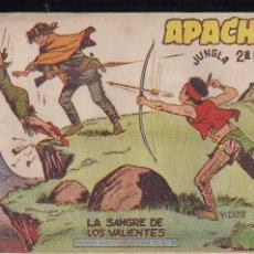 Tebeos: APACHE 2ª PARTE Nº 34. Lote 195192321