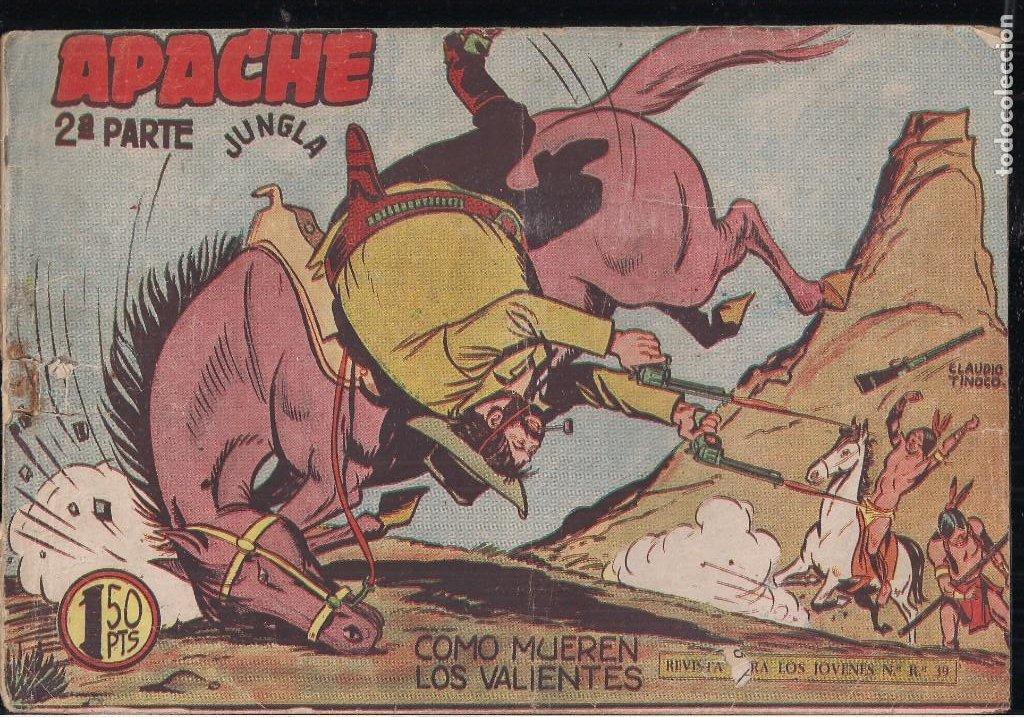 APACHE 2ª PARTE Nº 52 (Tebeos y Comics - Maga - Apache)