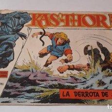 BDs: KAS -THOR KAS- Nº 43, LA DERROTA DE SARID, EDITORIAL MAGA ,, ORIGINAL 1963. Lote 195202243