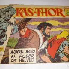 Tebeos: KAS -THOR Nº 32 AJARN BAJO EL PODER DE HELVUD, EDITORIAL MAGA ,, ORIGINAL 1963. Lote 195209767