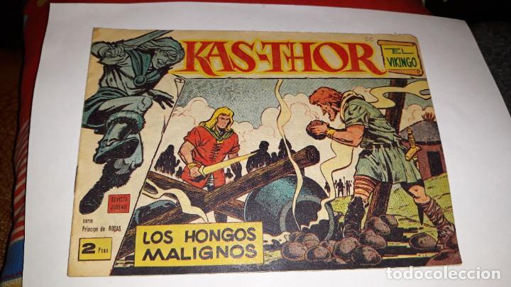 KAS -THOR Nº 30 LOS HONGOS MALIGNOS, EDITORIAL MAGA ,, ORIGINAL 1963 (Tebeos y Comics - Maga - Otros)