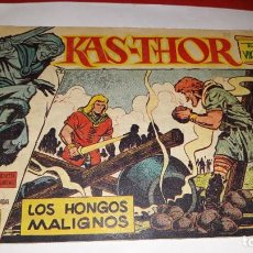 Tebeos: KAS -THOR Nº 30 LOS HONGOS MALIGNOS, EDITORIAL MAGA ,, ORIGINAL 1963. Lote 195210238
