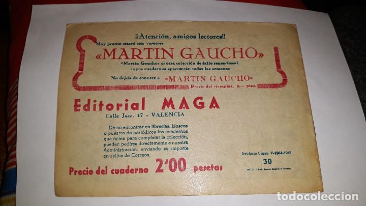 Tebeos: kas -thor nº 30 los hongos malignos, editorial maga ,, original 1963 - Foto 2 - 195210238