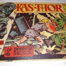 Tebeos: KAS -THOR Nº 29 LA DERROTA DEL SELGOR, EDITORIAL MAGA ,, ORIGINAL 1963. Lote 195210882