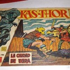 Tebeos: KAS -THOR Nº 26 LA CIUDAD DE EGRA, EDITORIAL MAGA ,, ORIGINAL 1963. Lote 195211472