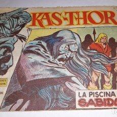 Tebeos: KAS -THOR Nº 24 LA PISCINA DE LA SABIDURIA, EDITORIAL MAGA ,, ORIGINAL 1963. Lote 195211771