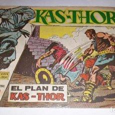 Tebeos: KAS -THOR Nº 21 EL PLAN DE KAS-THOR, EDITORIAL MAGA ,, ORIGINAL 1963. Lote 195212361