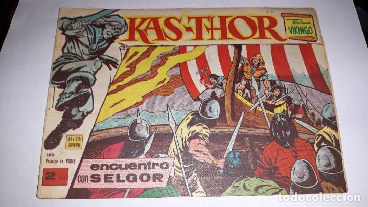 KAS -THOR Nº 19 ENCUENTRO CON SELGOR, EDITORIAL MAGA ,, ORIGINAL 1963 (Tebeos y Comics - Maga - Otros)