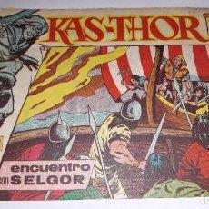 Tebeos: KAS -THOR Nº 19 ENCUENTRO CON SELGOR, EDITORIAL MAGA ,, ORIGINAL 1963. Lote 195212740