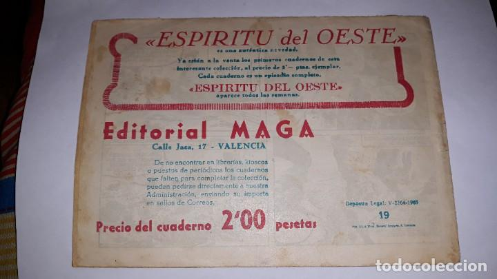Tebeos: kas -thor nº 19 encuentro con selgor, editorial maga ,, original 1963 - Foto 2 - 195212740