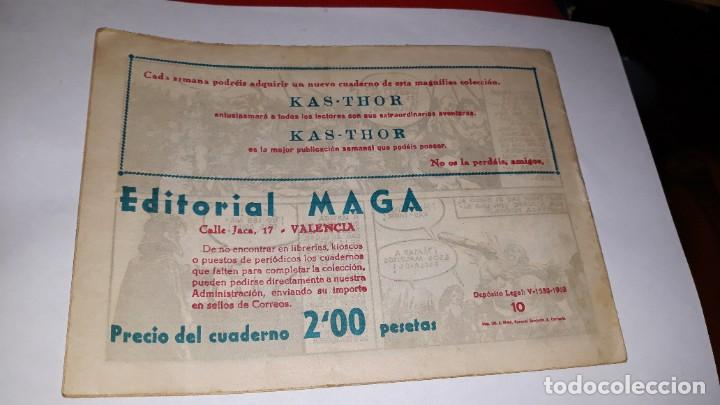 Tebeos: kas -thor nº 10 la isla dorada, editorial maga ,, original 1963 - Foto 2 - 195213018