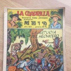 BDs: LA CUADRILLA PRESENTA: MI TIO Y YO - NUMERO 4 - MAGA, ORIGINAL - GCH1. Lote 195383987