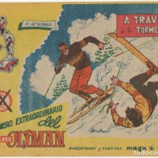 Tebeos: OLIMAN EXTRAORDINARIO Nº 7 (MAGA 1963) CONTRAPORTADA REAL SOCIEDAD, VER FOTOS.. Lote 195607153