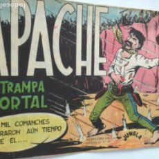 Tebeos: APACHE- LA TRAMPA MORTAL. Lote 196603583