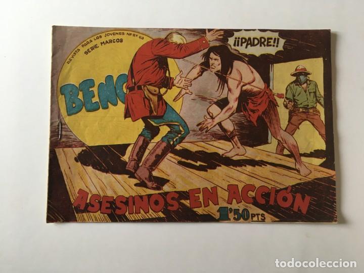 COMIC BENGALA Nº 28 ANTIGUO, SERIE MARCOS,EDITORIAL MAGA (Tebeos y Comics - Maga - Bengala)