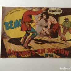 Tebeos: COMIC BENGALA Nº 28 ANTIGUO, SERIE MARCOS,EDITORIAL MAGA. Lote 196626153