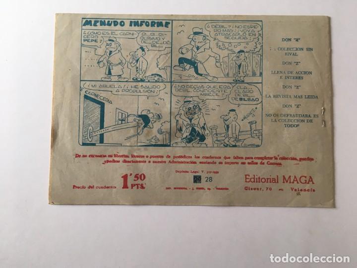 Tebeos: comic bengala nº 28 antiguo, serie marcos,editorial maga - Foto 2 - 196626153