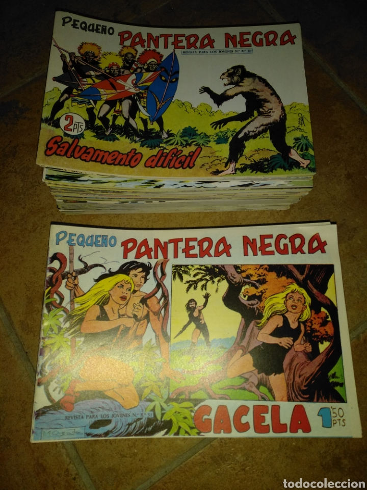 PEQUEÑO PANTERA NEGRA (Tebeos y Comics - Maga - Pantera Negra)