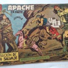 Tebeos: APACHE- 2A.SERIE- LA TRAICION DE PUMA SALVAJE- LOMO ABIERTO. Lote 196759782