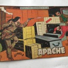 Tebeos: APACHE- 2A.SERIE- UN BUEN AMIGO- LOMO ABIERTO. Lote 196759840